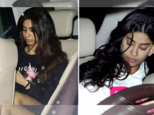 Watch: After Arjun Kapoor, Janhvi and Khushi Kapoor dine with half-sister Anshula