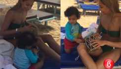Thank you Lisa Haydon, for we finally get to catch a glimpse of your adorable son