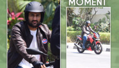 Mahendra Singh Dhoni has a DHOOM moment on streets of Bandra. VIEW PICS