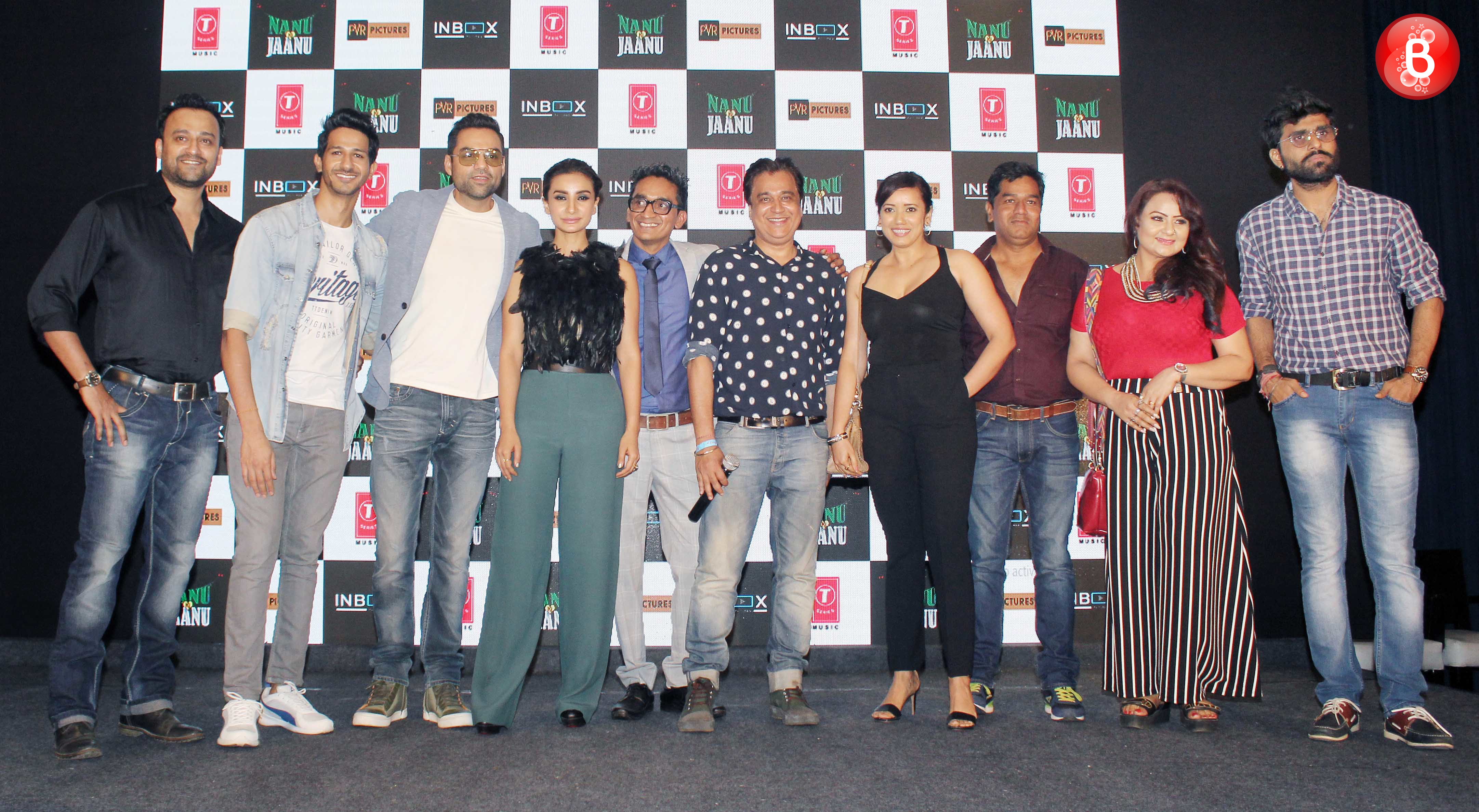 Abhay Deol, Patralekhaa and the team
