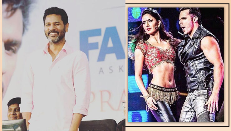 Prabhudheva reveals he doesn't know much about the Varun-Katrina dance film