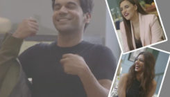 WATCH: Rajkummar Rao turns a mischievous leaf as he strips in front of Neha and Radhika