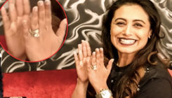 Forget this starry picture, you cannot miss Rani Mukerji's ROCK on her finger here