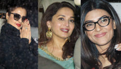 PICS: Rekha, Madhuri, Sushmita and more spotted at the special screening of 'Hichki'