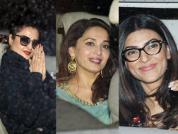 PICS: Rekha, Madhuri, Sushmita and more catches up for a special screening of 'Hichki'