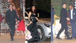 SRK, Aishwarya, Karan Johar and others shimmer at Akash Ambani's engagement party. VIEW PICS