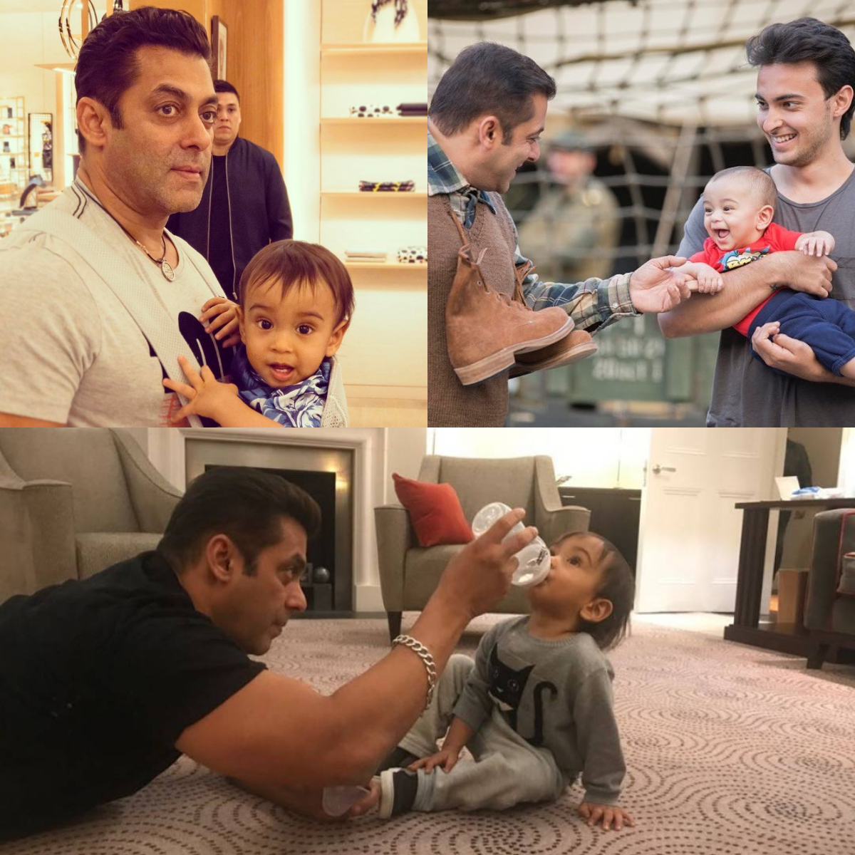 Salman and Ahil's moments