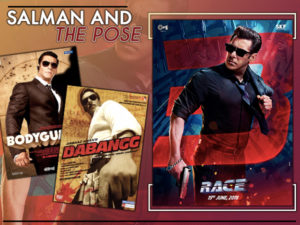 Salman Khan movie posters