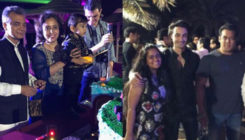 Salman and the entire Khan clan ring in nephew Ahil's 2nd birthday in Abu Dhabi