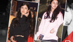 PICS: A sombre Shanaya Kapoor spotted spending some time with best friend Ananya Panday