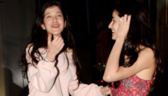 Post a movie date, besties Ananya and Shanaya just can't stop giggling. View Pics