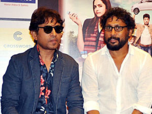 Shoojit Sircar and Irrfan Khan