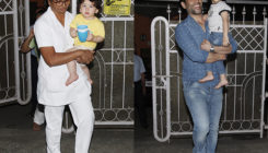 PICS: Taimur Ali Khan and Laksshya Kapoor spotted post their fun play date