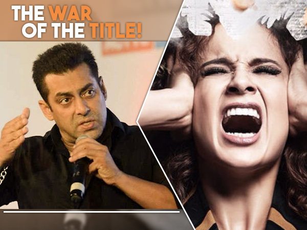 Salman Khan angry with Kangana