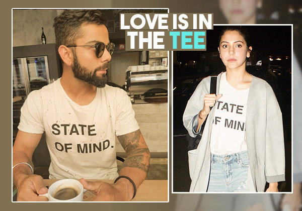 Anushka Sharma has just raided hubby Virat Kohli's wardrobe and we have proof!