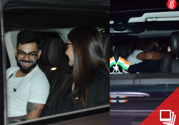 Anushka and Virat indulge in a little PDA at the airport and the pictures are too cute to be missed
