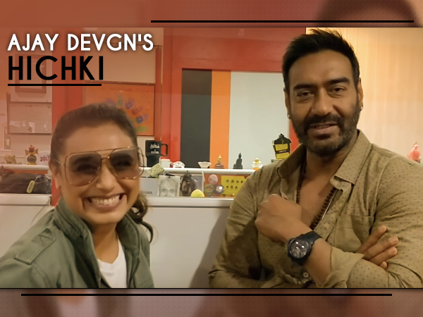 Image result for hichki moments of ajay devgan