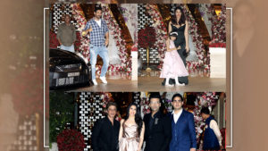 WATCH: SRK, Aishwarya Rai, Katrina and others glam up Akash Ambani's post-engagement party