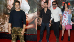 Baaghi 2: Tiger with family, Akshay Kumar and more attend the screening. View Pics