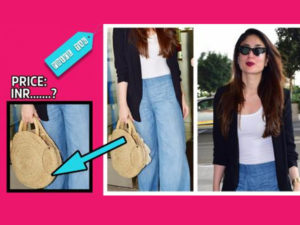 Price Tag: For a change, Kareena Kapoor sports an affordably cheap handbag