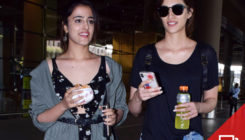 Style Sirens! Kriti and Nupur Sanon nail it with their airport outing