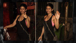 Watch: Nimrat Kaur papped outside an eatery, post dinner