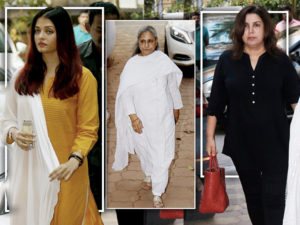WATCH: Aishwarya, Jaya, Farah and others attend Late Shammi Aunty's prayer meet