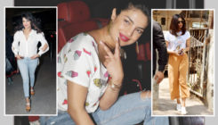 Priyanka just can't get enough of white tops during her Mumbai sojourn!