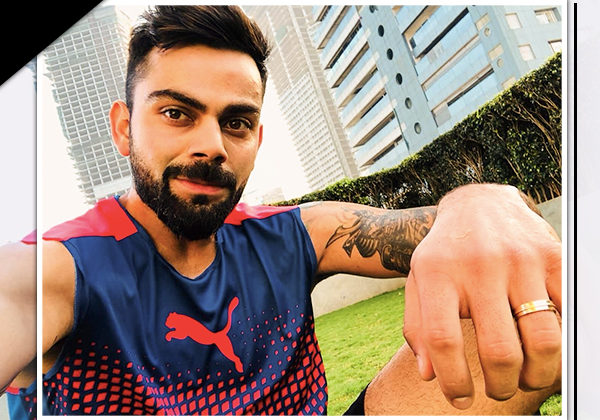 If you think Virat Kohli is the focus of this picture? Then look closer!