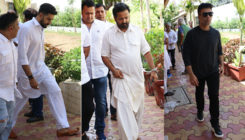 PICS: Abhishek Bachchan, Karan Johar and other celebs attend the funeral of Nikkhil Advani's mother
