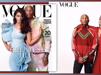Aishwarya Rai and Pharrell Williams team up for a mag cover and the outcome is SEXY AF