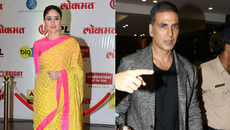 Kareena looks stunning, while Akshay looks dapper as they attend an award function