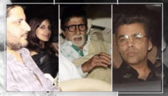 Watch: Big B, KJo and many more arrive for Jaya Bachchan's 70th birthday bash