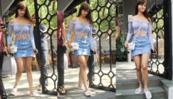 Disha's style mantra for summer; hot denims with off-shoulders. View Pics