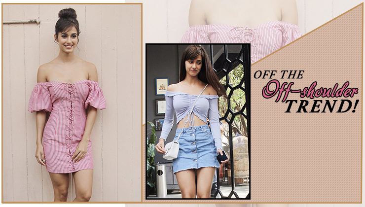 Dear Disha Patani, we love you in off-shoulder, but it's time you moved over those