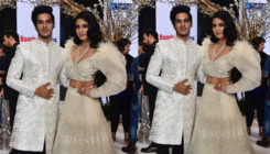 Ishaan and Malavika's 'Beyond The Clouds' debut on ramp is regal and radiant!