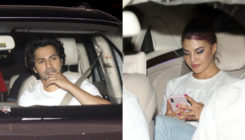 Varun, Jacqueline and others visit Salman at his house, as he returns from jail. VIEW PICS