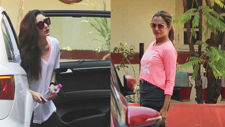 PICS: Stylish and how! BFFs Kareena and Amrita's gym outing is chic and breezy
