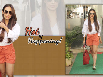 Tress mess, metallics, tangerine shot: We are soaking in Malaika's refreshing outfit!