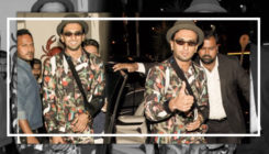 Watch: Resembling a Christmas tree, enthu-cutlet Ranveer Singh is back from Delhi