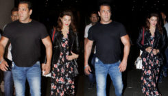 Back after the RACE! Salman, Jacqueline and others return to the city post the UAE shoot. VIEW PICS!