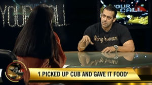 WATCH: Salman reveals how he fed biscuits, gave water to the Blackbuck