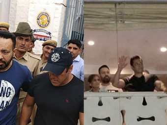 IN PICTURES: We track Salman Khan's eventful day in these 6 pictures!