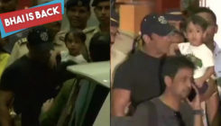 FIRST PICTURES: Salman Khan reaches Mumbai, heads to Galaxy