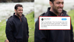 Tears of gratitude! Salman Khan THANKS his fans for all the support through THIS tweet