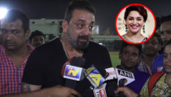 WATCH: Sanjay Dutt walks off on being asked about reuniting with Madhuri