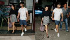 Shahid Kapoor and Mira Rajput's AWWDORABLE outing caught on cameras. View Pics