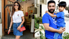 Shilpa Shetty's Sunday lunch date with family was all about matching clothes. VIEW PICS