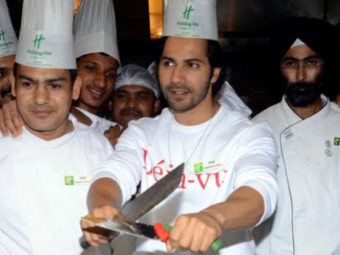 Watch: Varun Dhawan turns a chef as he promotes 'October'