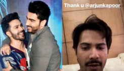 Varun receives just the BEST surprise from Arjun while shooting. WATCH VIDEO